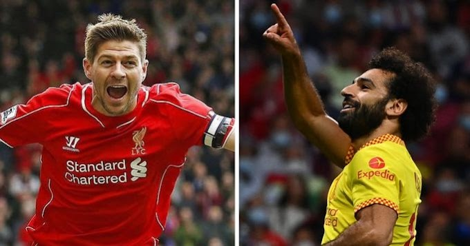 Salah leapfrog Gerrard as Liverpool's top Champions League goalscorer