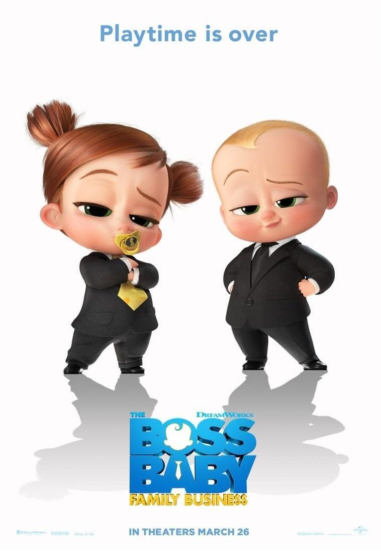 Download The Boss Baby Family Business (2021) Full Movie in Hindi Fan Dual Audio BluRay 720p [1GB]