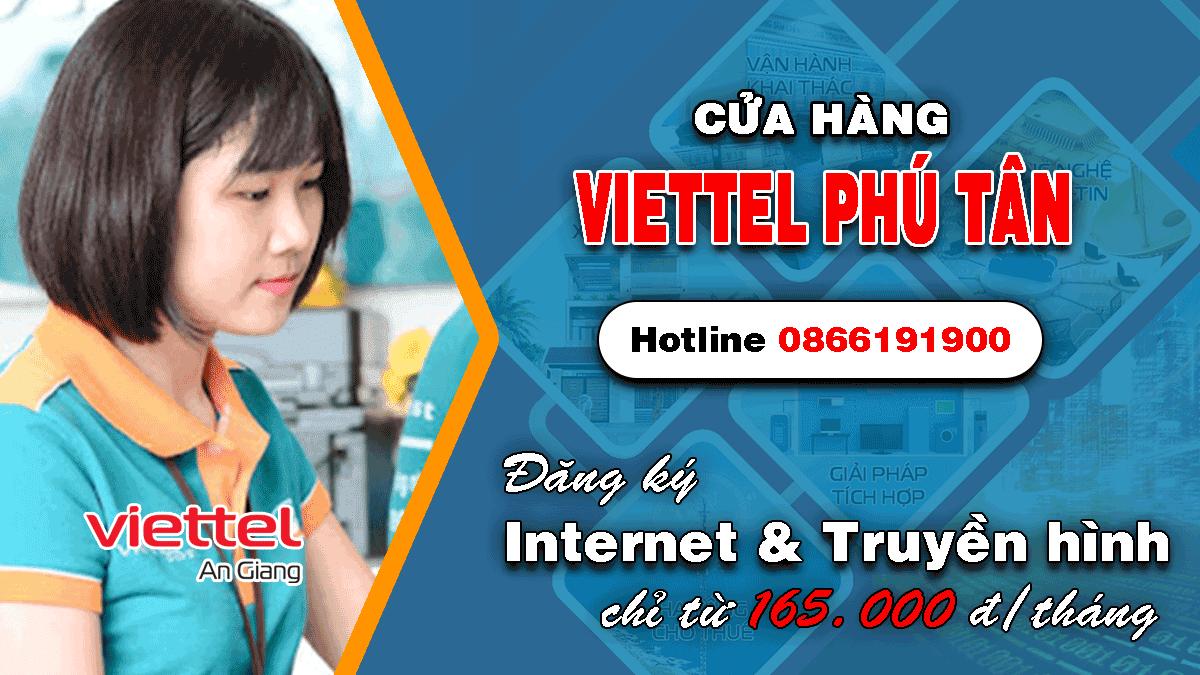 Cửa hàng Viettel huyện Phú Tân An Giang
