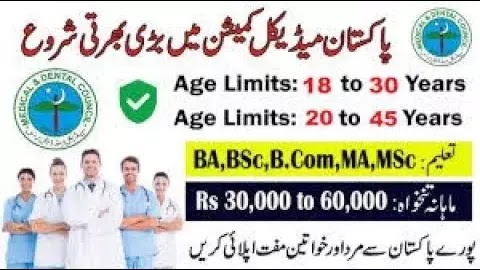 Pakistan Medical Commission Jobs in islamabad