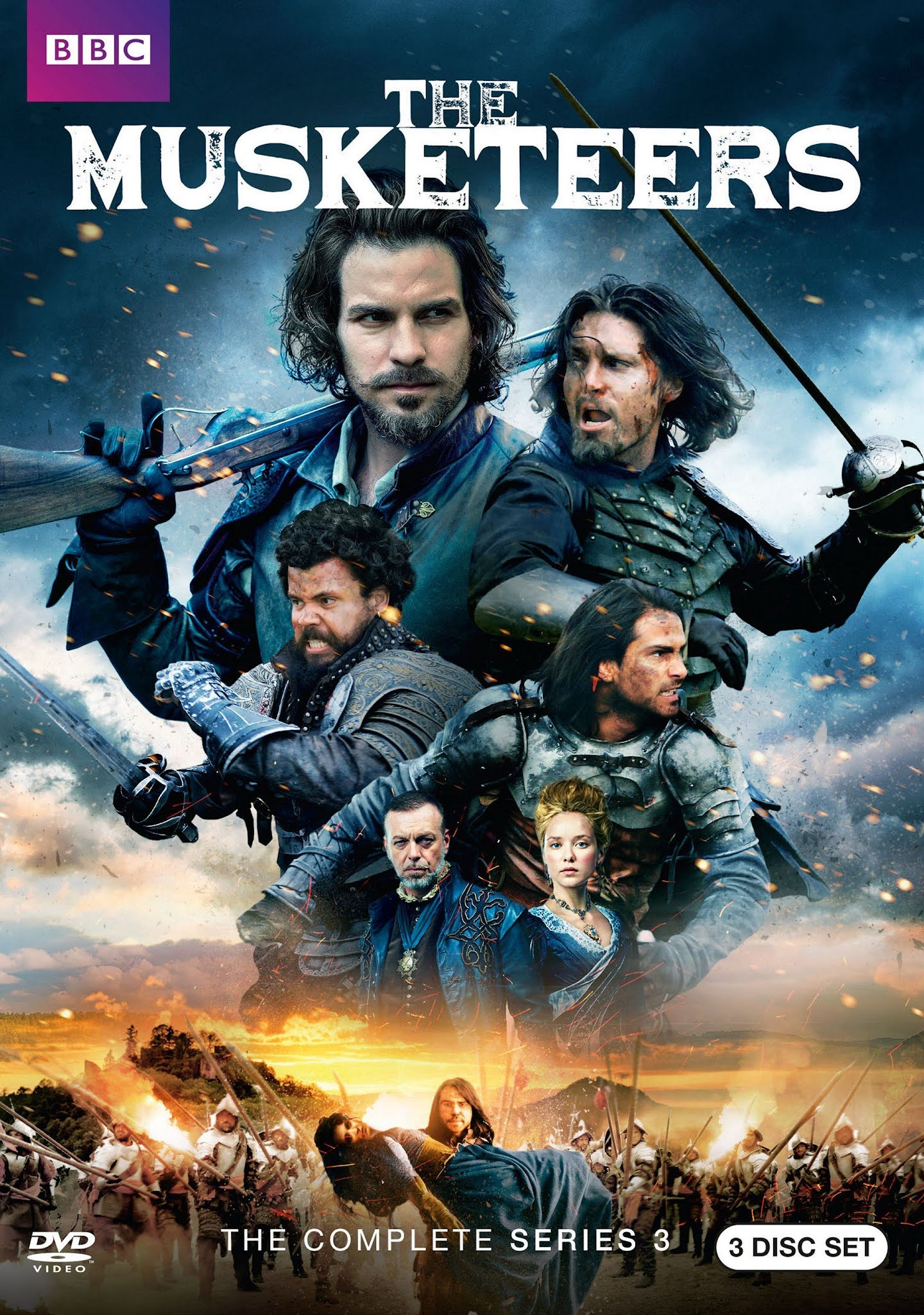 The Musketeers Serie Completa Subtitulado 720p