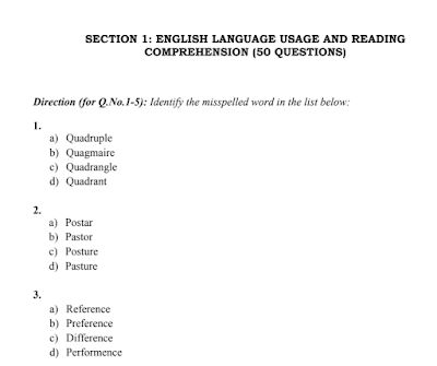 KMAT karnataka previous year question paper