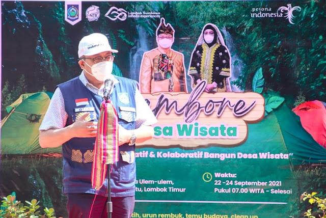 Sekda ajak masyarakat lokal jelajahi destinasi wisata NTB