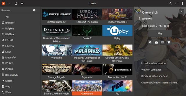 Juegos en Fedora Linux