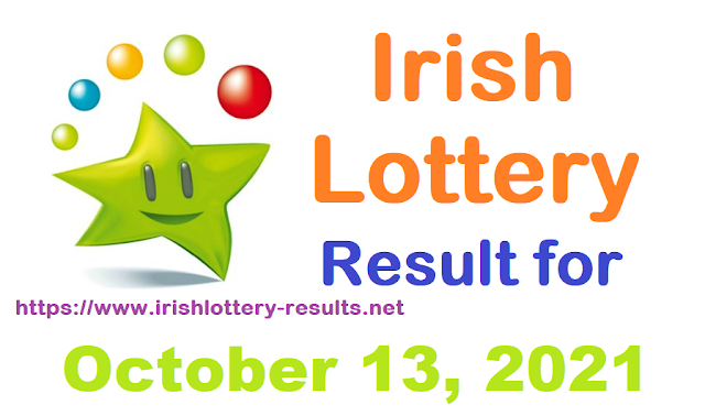 Irish lottery results for October 13, 2021