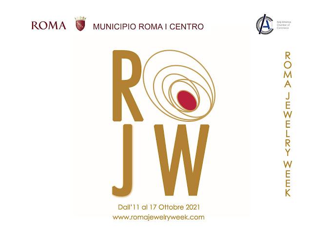 Locandina della ROMA JEWELRY WEEK