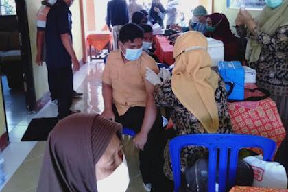 Menuju Herd Immunity, GPAN Lombok Barat Sinergi Dengan SMPN 4 kuripan