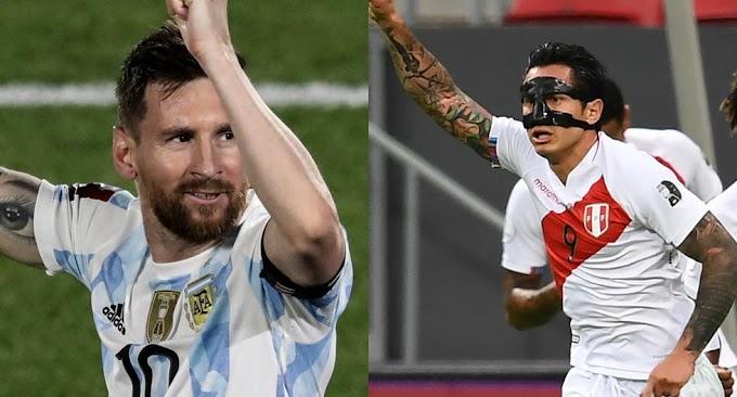 Watch Argentina VS Peru Live Match