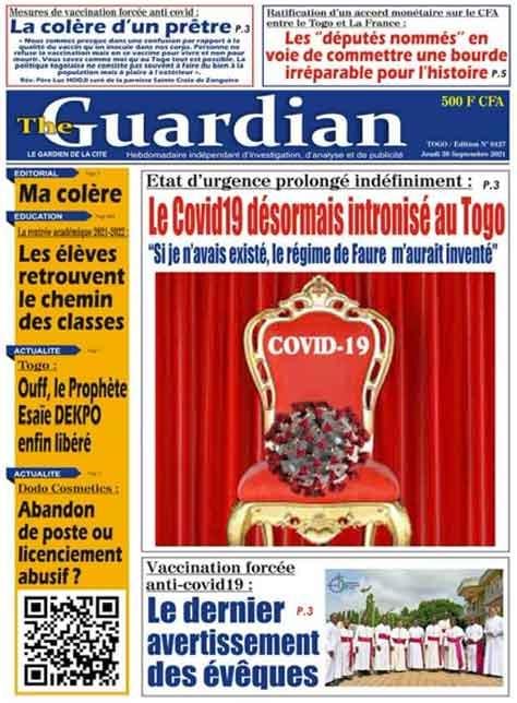 Média : Le journal Guardian, première victime du « pass sanitaire»