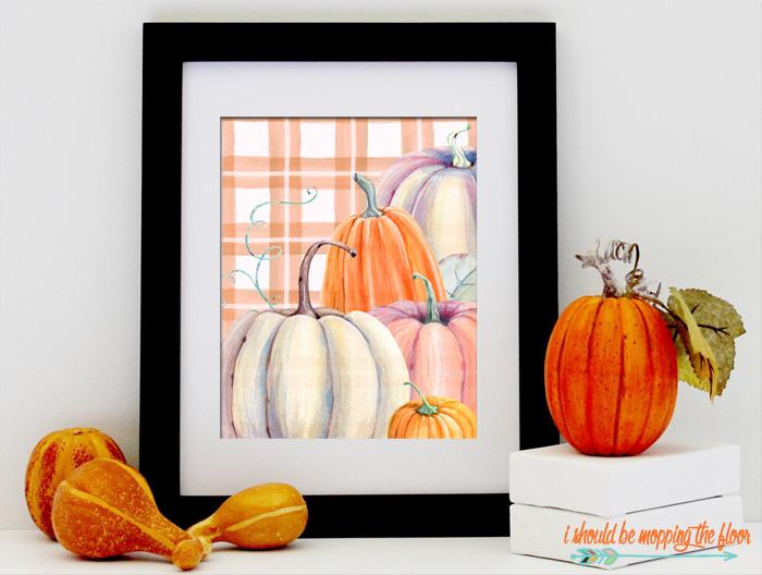 Autumn Harvest Printable