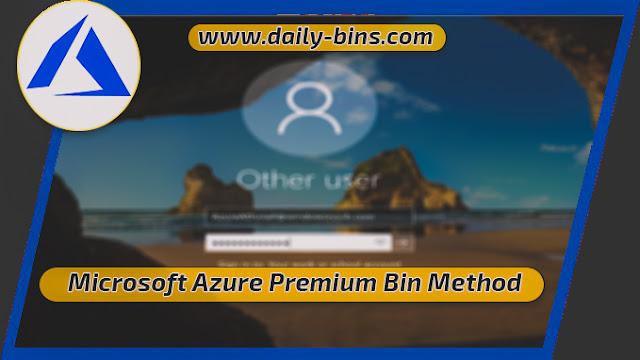Azure Microsoft Bin 2022