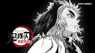 鬼滅の刃 無限列車編 アイキャッチ   炎柱 煉󠄁獄杏寿郎 Rengoku Kyojuro CV.日野聡   Demon Slayer Mugen Train