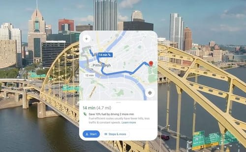 Google helps users reduce their carbon footprint