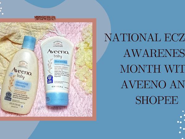 National Eczema Awareness Month with Aveeno and Shopee