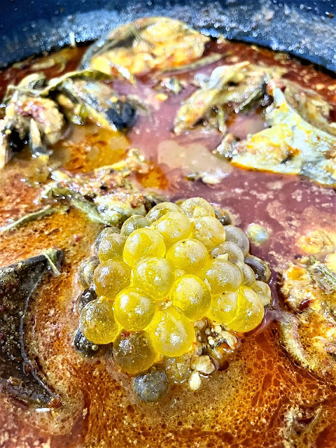 Asam Pedas Telur Ikan Duri