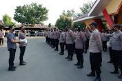 Polres Serang Kota Kirim 125 Personil BKO Pengamanan Pilkades di Kabupaten Tangerang