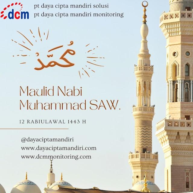 Selamat memperingati hari Maulid Nabi Muhammad SAW