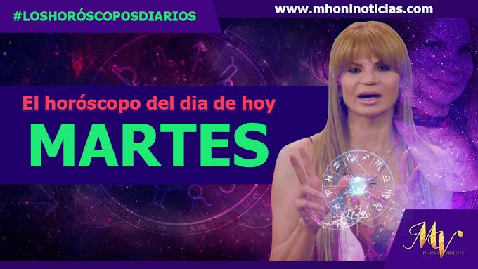 Los horóscopos de MARTES 19 de OCTUBRE del 2021 - Mhoni Vidente