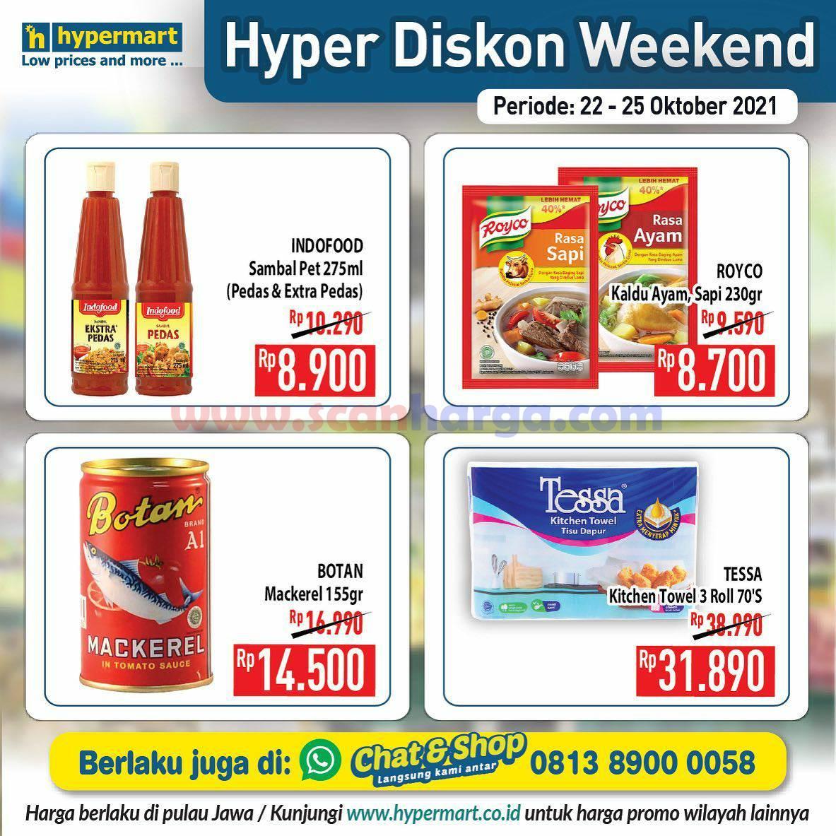 Promo Hypermart Weekend Terbaru 22 - 25 Oktober 2021 7