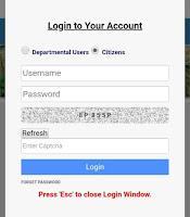 How to login on Banglarbhumi.gov.in