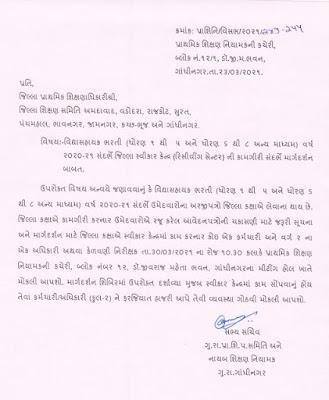 Gujarat Vidhyasahayak Bharti 2021 | GSEB