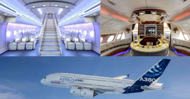 Most Luxurious Private Planes In The World - airbus a380 - Moniedism
