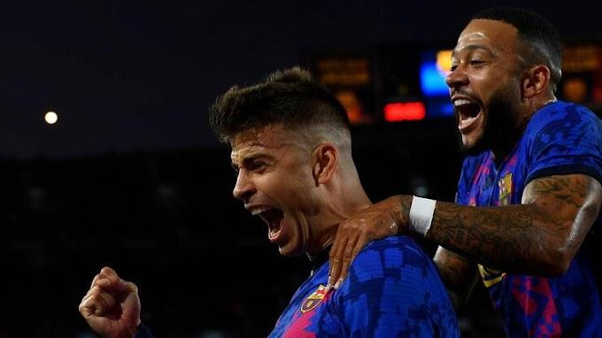 Barcelona 1 - 0 Dyn. Kyiv: Piqué poaches vital Barca victory