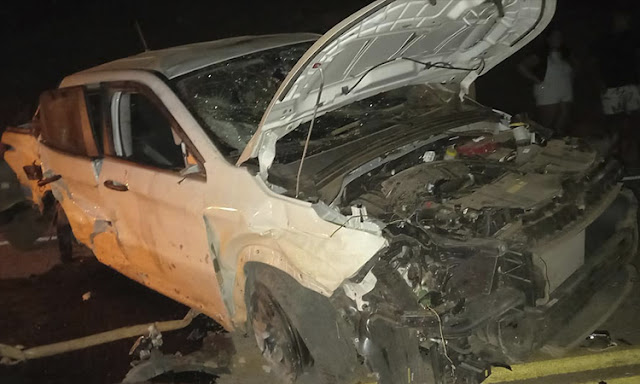 Grave acidente é registrado na BA-148 entre Marcolino Moura e Jussiape