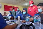 11 Ribu Warga Binjai dan Deli Serdang Disuntik Vaksin Dosis 2