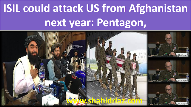 ISIL could attack US from Afghanistan next year: Pentagon,