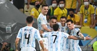مشاهدة مباراة الأرجنتين وبيرو بث مباشر