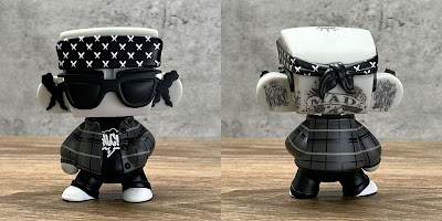 No Love City Exclusive MADL Citizens Skin Deep Edition Vinyl Figure by MAD x UVD Toys