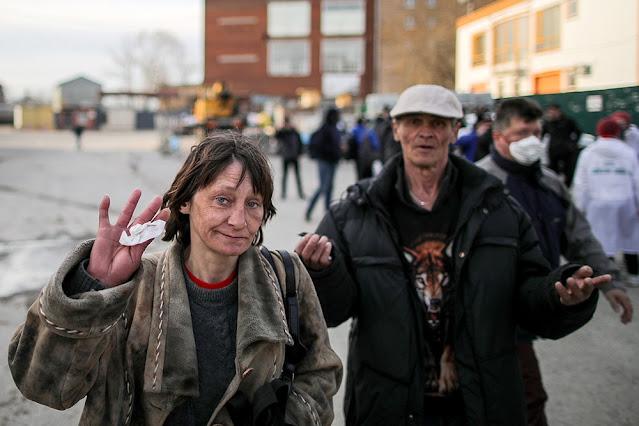 В Москве на треть уменьшилось количество бездомных: они умерли