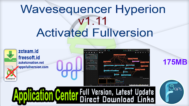 Wavesequencer Hyperion v1.11 Activated Fullversion