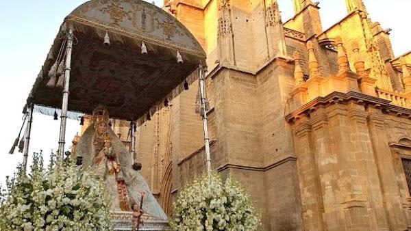 Horario e Itinerario Salida Extraordinaria Virgen de los Reyes. Sevilla 07 de Diciembre del 2021