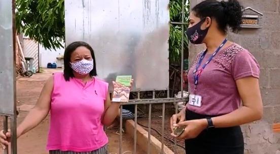 Embasa mobiliza moradores de Barreiras sobre a importância do uso dos reservatórios de água