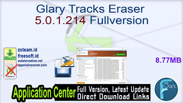 Glary Tracks Eraser 5.0.1.214 Fullversion