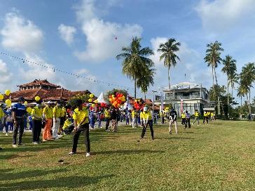 Rektor UNP Padang Buka Iluni UNP Tour Golf Turnament 2021 di Batam