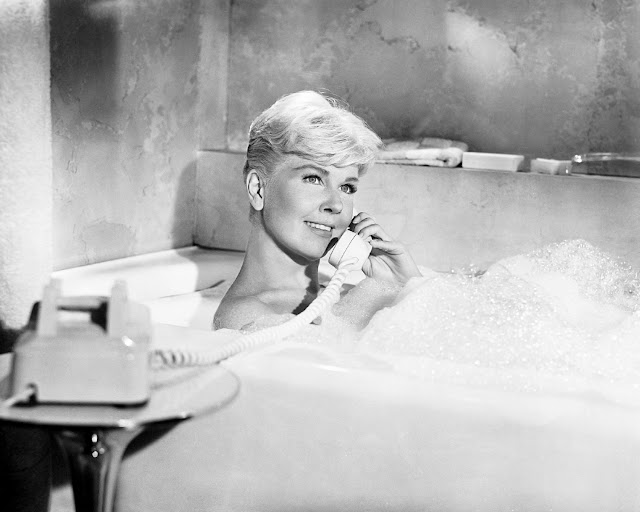 1959. Doris Day - production still from Michael Gordon's Pillow Talk