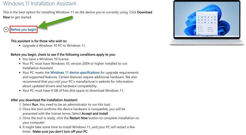 cập nhật Windows 11