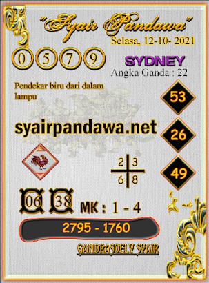 Gambar Syair Pandawa Sidney selasa 12 oktober 2021