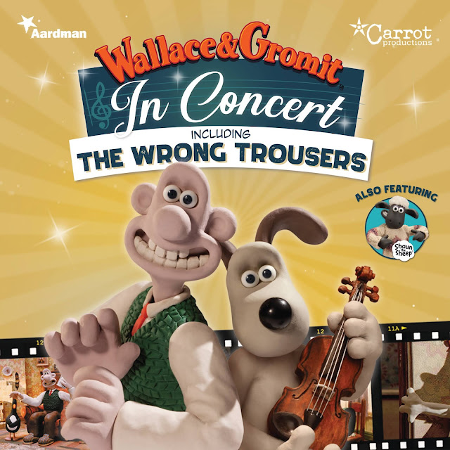 **AD** Review of Wallace & Gromit Live Concert.