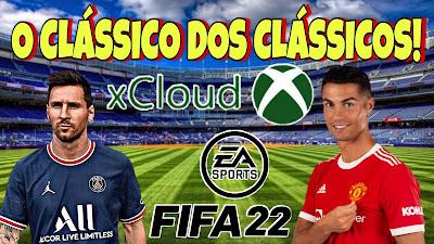 Xcloud fifa 22 gameplay
