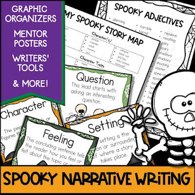 Spooky Halloween Narrative Writing