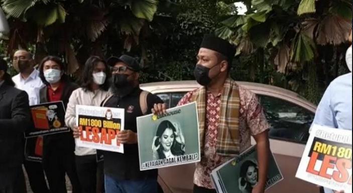 Banyak Pejabat Negaranya Masuk Pandora Papers, Sejumlah LSM Malaysia Demo di Gedung Parlemen Kuala Lumpur