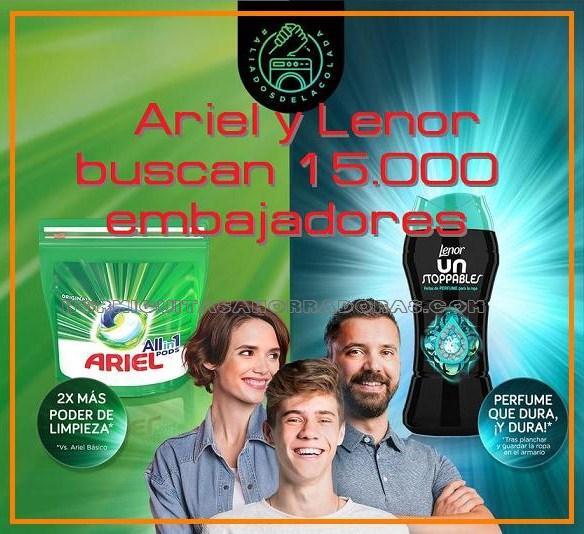Ariel Pods y Lenor Unstoppables buscan 15.000 embajadores