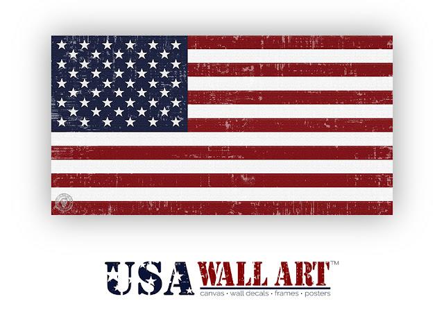 United States of America Flag Artwork