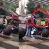 Video Viral Pemotor Diduga Driver Ojol Dianiaya Sopir Elf, Disebut Nyerobot Penumpang