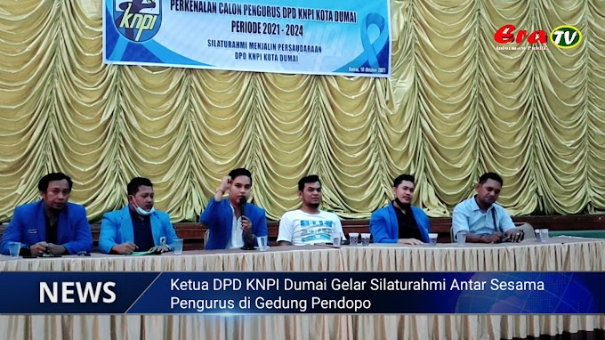 Agar Saling Mengenal, Ketua DPD KNPI Dumai Gelar Silaturahmi