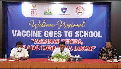 Jubir Presiden RI Apresiasi Dinas Pendidikan Aceh Terkait Vaksinasi Siswa
